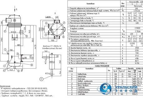 Подогреватель сетевой воды ПСВ 200-14-23 Северск Кожухотрубный испаритель ONDA MPE 26 Канск