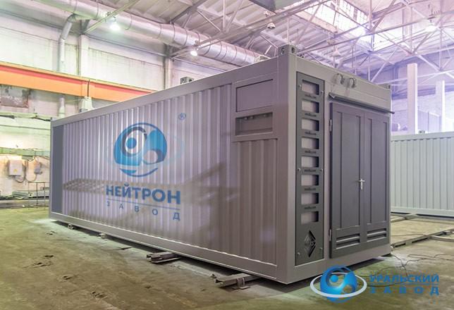 Блочно-модульная котельная в контейнере