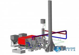 Стационарная термомасляная установка серии Нейтрон-ТМК