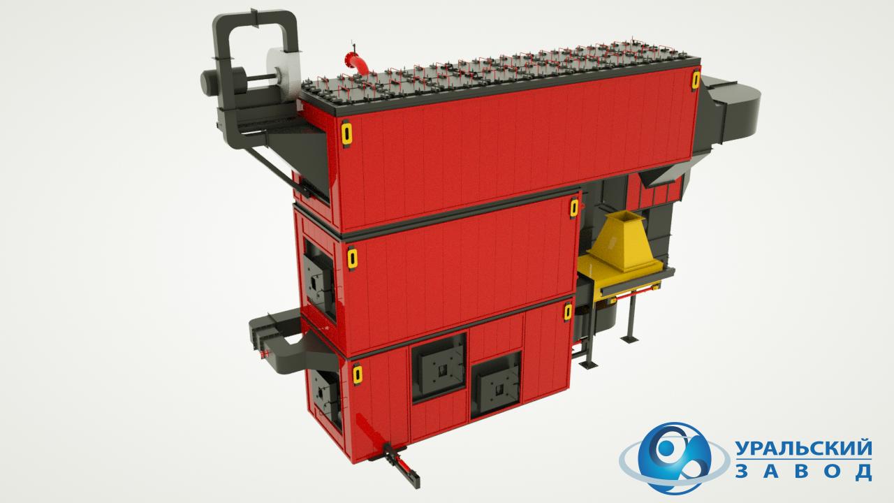 Водогрейные котлы ТВК мощностью от 0,1 до 6 МВт
